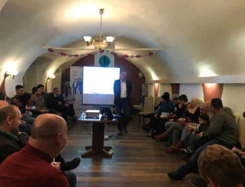 """Kick-Off Treffen für das Projekt """"Bridge to my home"""" 28.1.2019"""